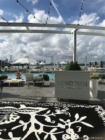 Miami Beach Condo For Sale: 1100 West Ave #1501
