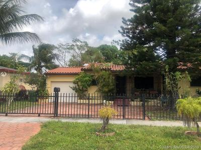 North Miami Single Family Home For Sale: 555 NW 133rd St