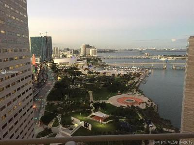 Miami-Dade County Rental For Rent: 325 S Biscayne Blvd #3720