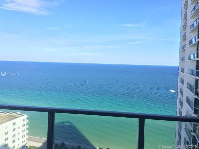 Miami-Dade County, Broward County, Palm Beach County Rental For Rent: 3101 S Ocean Dr #2501