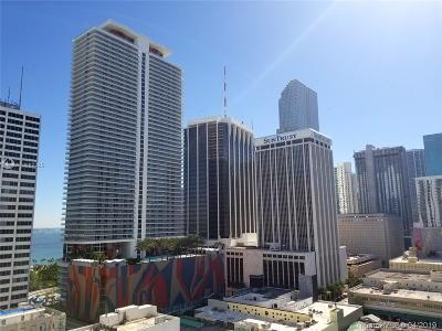 Miami-Dade County Condo For Sale: 133 NE 2nd Ave #1606