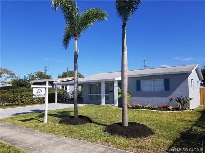 Hollywood, Hallandale, Sunny Isles Beach, Golden Beach, Dania Beach Single Family Home For Sale: 3217 Taft St