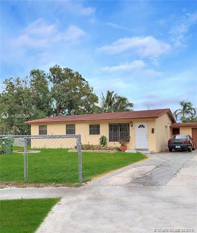 Fort Lauderdale Single Family Home For Sale: 3788 SW 16th Pl