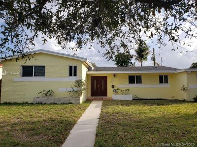 North Miami Beach Single Family Home For Sale: 1022 NE 179th Ter