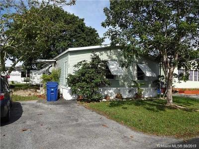 Homestead Single Family Home For Sale: 35250 SW 177th Ct #22