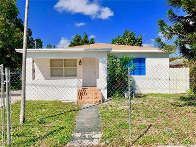 Miami Single Family Home For Sale: 1891 NW 62nd Ter