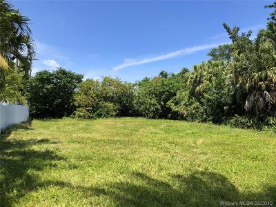 North Miami Residential Lots & Land For Sale: 1853 NE 124th Street