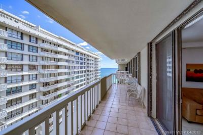 Bal Harbour Condo For Sale: 9801 Collins Ave #17T