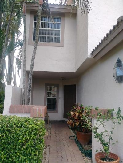 Boca Raton Condo Active With Contract: 9538 Boca River Cir #4