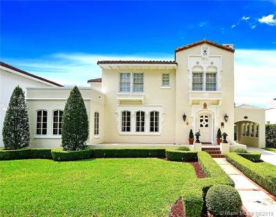Coral Gables Single Family Home For Sale: 2622 Country Club Prado
