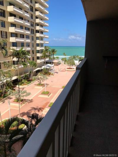Bal Harbour Condo For Sale: 9801 Collins Ave #7V