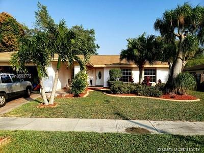 Tamarac Single Family Home For Sale: 6510 NW 89th Ave