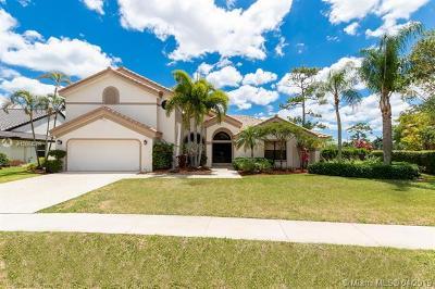 Boca Raton Single Family Home For Sale: 11422 Boca Woods Ln