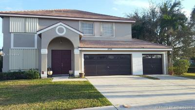 Boynton Beach Single Family Home For Sale: 8790 Indian River Run