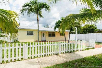 Davie Single Family Home For Sale: 7651 NW 32nd St