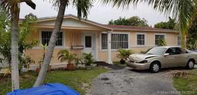 Miami Gardens Single Family Home For Sale: 1110 NW 200th Ter