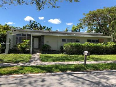 South Miami Single Family Home For Sale: 6330 SW 44th St