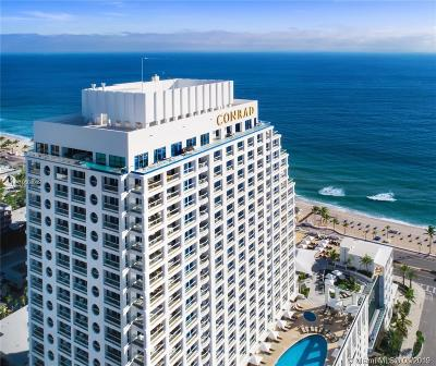 Fort Lauderdale Condo For Sale: 551 N Fort Lauderdale Beach Blvd #H903
