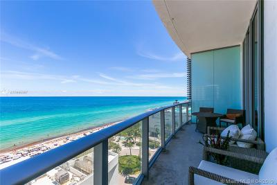 Hollywood Condo For Sale: 4111 S Ocean Dr #802