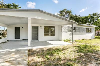 Fort Lauderdale Single Family Home For Sale: 3556 SW 15th St