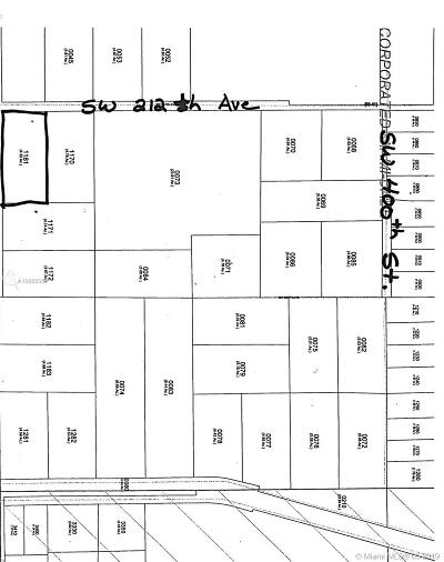 Homestead Commercial Lots & Land For Sale: Homestead