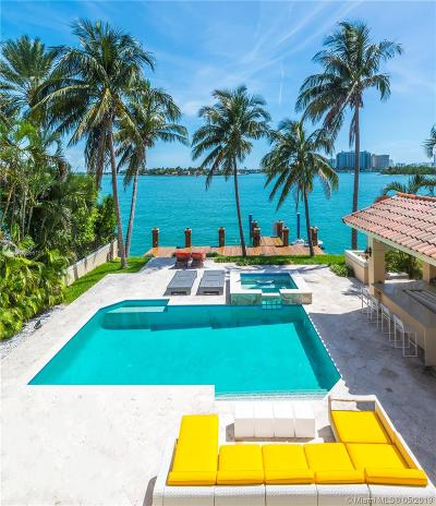 Coconut Grove, Coral Gables, Fisher Island, Key Biscayne, Miami Beach Single Family Home For Sale: 91 N Hibiscus Dr