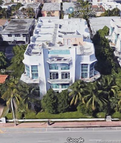 Miami Beach Condo For Sale: 7728 Collins Ave #8