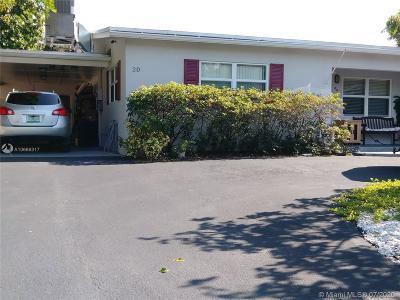 Pompano Beach Single Family Home For Sale: 20 SE 7th St