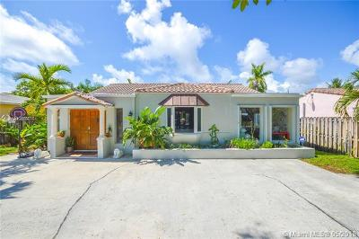 Hollywood Single Family Home For Sale: 1504 Rodman St