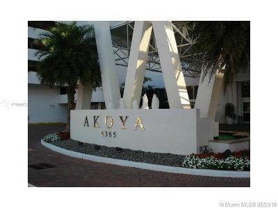 Akoya, Akoya Condo, Akoya Condominiums Rental For Rent: 6365 Collins Ave #1204