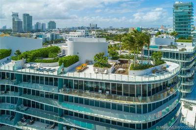 Coconut Grove, Coral Gables, Fisher Island, Key Biscayne, Miami Beach Condo For Sale: 1 Collins Ave #PH 706
