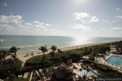 Miami Beach Condo For Sale: 5225 Collins Ave #1103