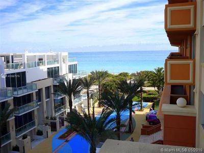 Spiaggia, Spiaggia Condo, Spiaggia Ocean, Spiaggia Ocean Condo Rental For Rent: 9499 Collins Ave #508
