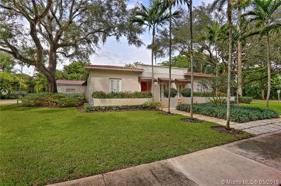 Coral Gables Single Family Home For Sale: 701 Camilo Ave