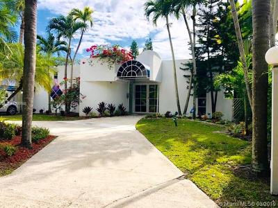 South Miami Single Family Home For Sale: 6430 SW 81st St