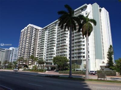 Miami Beach Condo For Sale: 5701 Collins Ave #1008