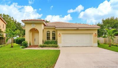 Coconut Creek Single Family Home For Sale: 4383 NW 42nd Court