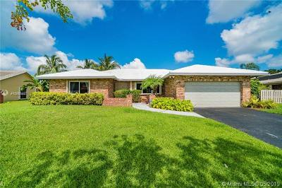 Plantation Single Family Home For Sale: 9180 NW 11th Ct