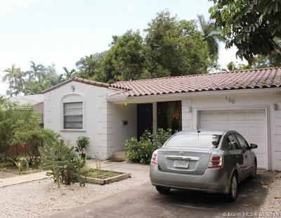 El Portal Single Family Home For Sale: 150 NE 87th St