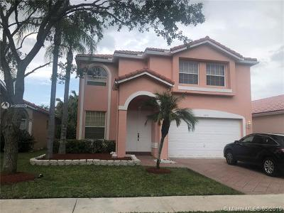 Coral Springs Single Family Home For Sale: 5343 NW 126th Dr