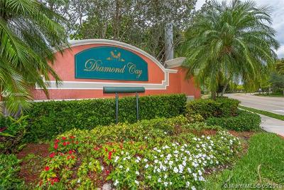 Weston Single Family Home Active With Contract: 4292 Diamond Ter