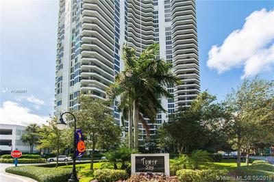 Aventura Condo For Sale: 3530 Mystic Pointe Dr #2407
