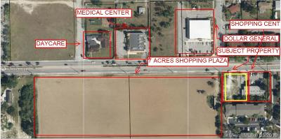 Homestead Commercial Lots & Land For Sale: 1500 NE 8th St