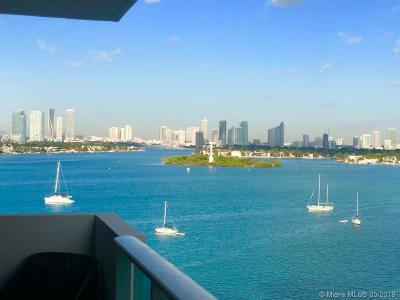 Miami Beach Condo For Sale: 1200 West Ave #1023