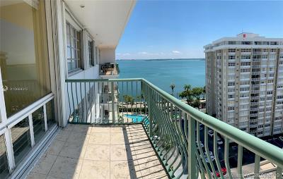 Brickell Bay Tower, Brickell Bay Tower Condo Condo For Sale: 1408 Brickell Bay Dr #1401