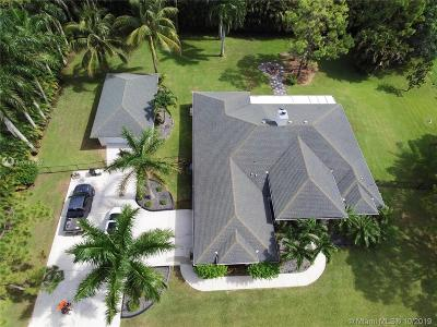 Palm Beach County Single Family Home For Sale: 17148 78th Rd