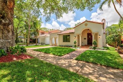 Coral Gables Single Family Home For Sale: 6908 Portillo St