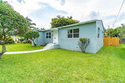 Hollywood Single Family Home For Sale: 1431 Fletcher St