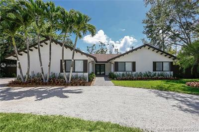 Pinecrest Single Family Home For Sale: 12591 SW 82nd Ave