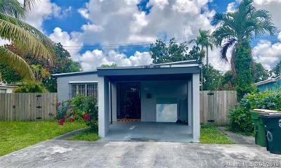 North Miami Single Family Home For Sale: 150 NW 125th St